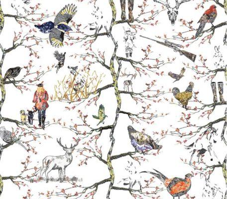 deep in trees by eilsi galbraith