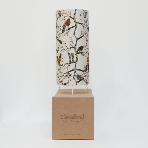 Hunting Table Lamp Cotton/Linen Fabric by Irish Eilis Galbraith