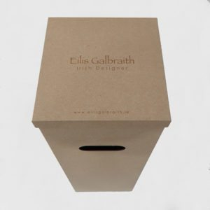 Eilis Galbraith floor lamp packaging