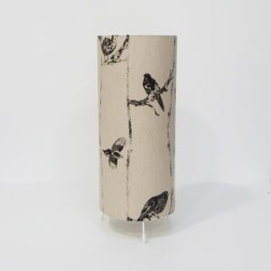 Irish fabric design table lamp