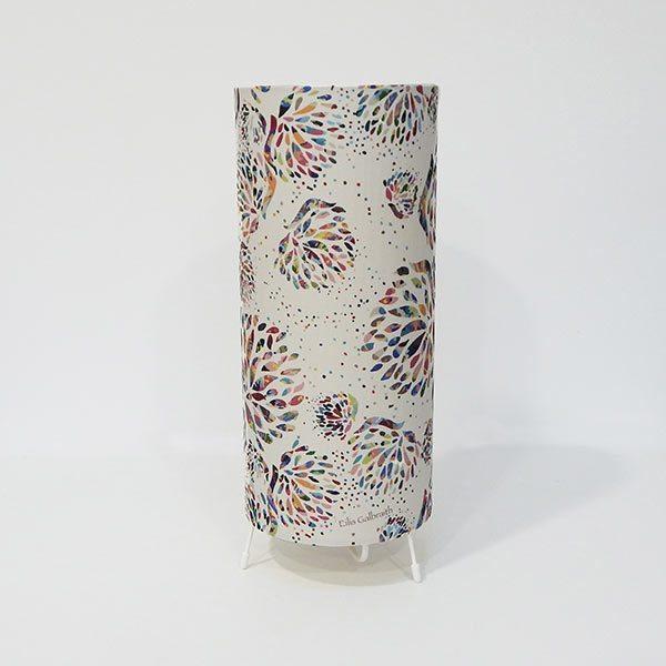 Irish fabric table lamp