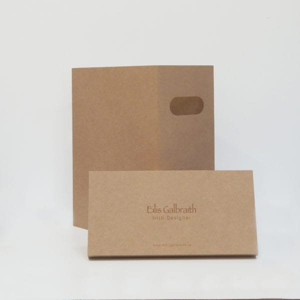 Set 2 Table Lamps Packaging by Irish Designer Eilis Galbraith