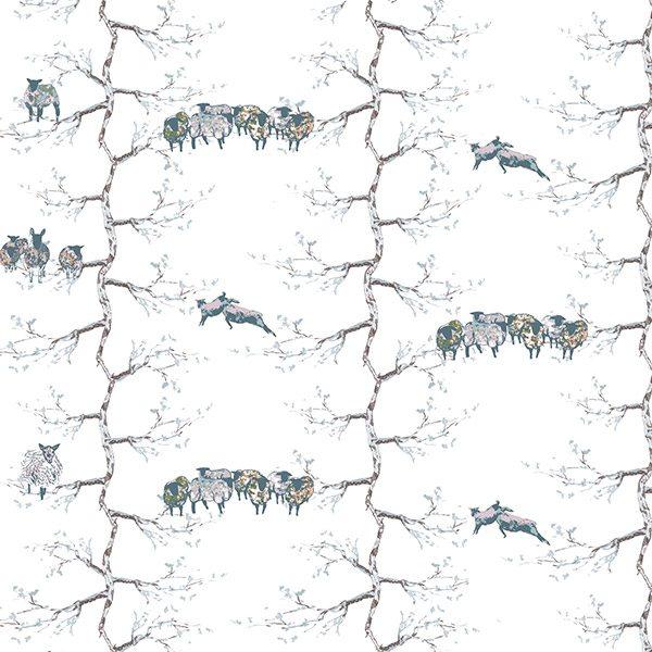 sheep in trees by eilis galbraith