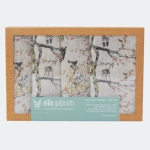 Irish artist Eilis Galbraith Napkins Homeware