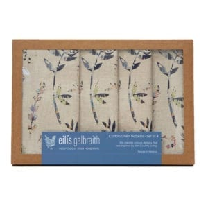 Linen Napkins Irish crafted Homeware