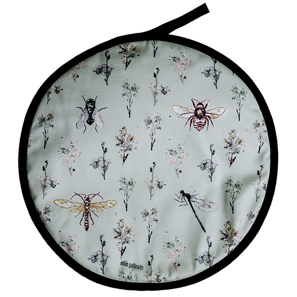It's a Bugs Life (sage) Chef Pad/Aga Pad
