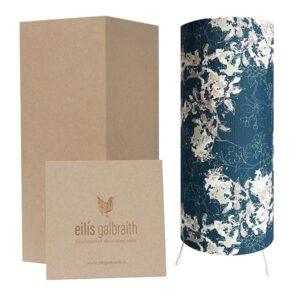 Eilis Galbraith Forest in Flowers (blue) Table Lamp