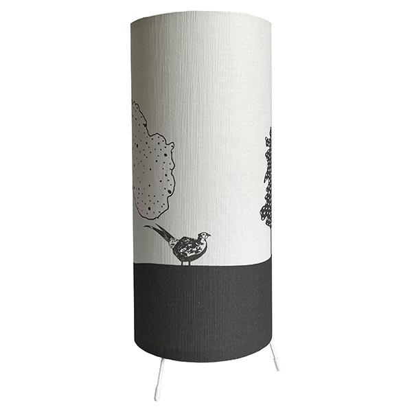 Eilis Galbraith Into the Forest (grey)1 Table Lamp
